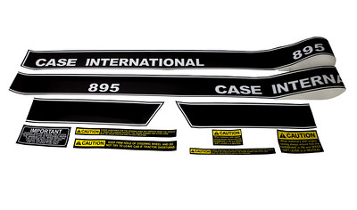 CASE IH 895 LCAB SERIES BONNET DECAL SET 1985184C2