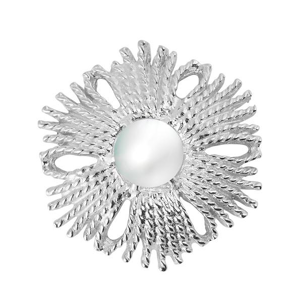 Gatsby pearl brosch