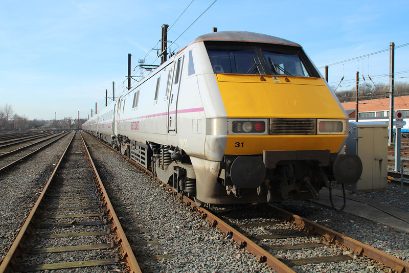 91131 stabled at Neville Hill.