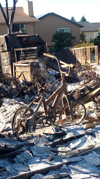 Northern CA Fire Images