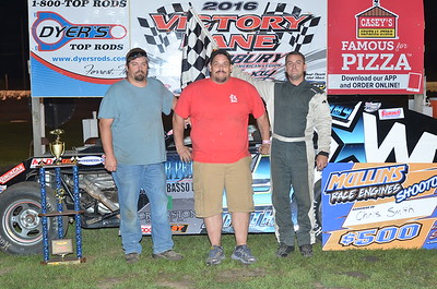 Casey Modified Nationals @ Fairbury 9/3/16