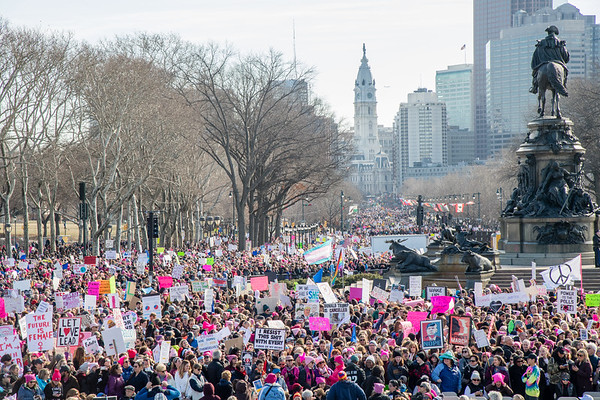 Woman's March  (Philadelphia) 2018
