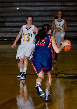 DeSales @ Wilkes Women 02/16/2010