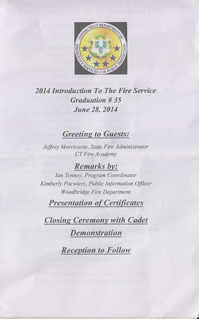 6/28/2014 Introduction to Firefighting Graduation