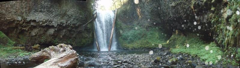 Oregon City Waterworks Falls