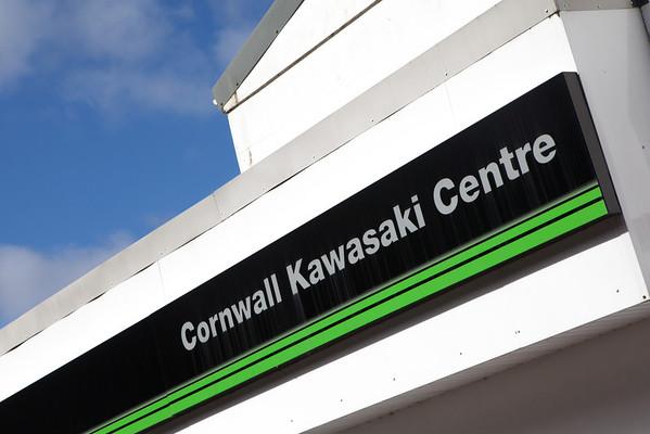 KMUK - Redruth - Cornwall Kawasaki