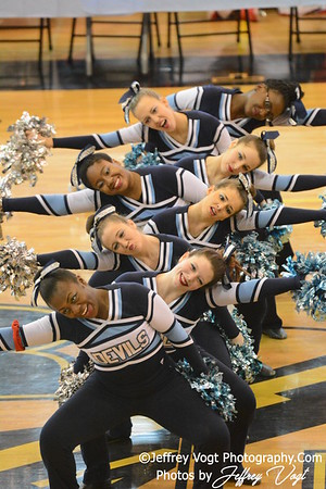 02-01-2014 Springbrook HS Poms at MCPS County Championship Division 3,  Photos by Jeffrey Vogt Photography & Kyle Hall