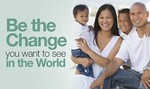 Be The Change Banner