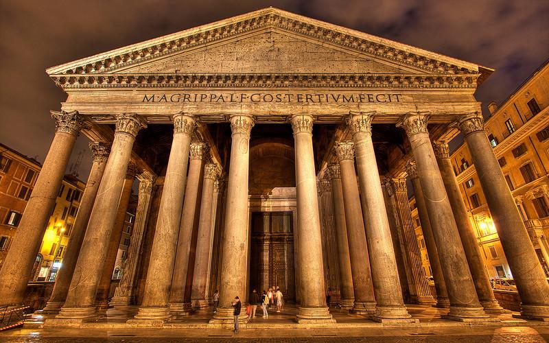Marcus Agrippa's Pantheon (HDR Image)