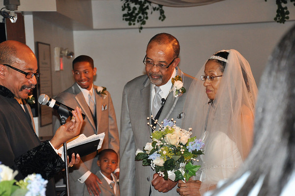 June & Ron Robinson Wedding May 1, 2010