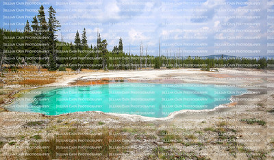 Yellowstone and the surrounding area