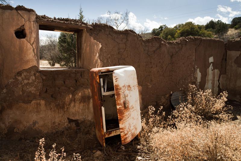 Cestou do Mexika přes Ghost-towny poblíž Patagonie (AZ)