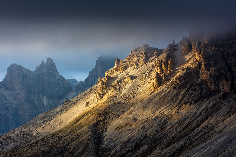 Light on the mountains