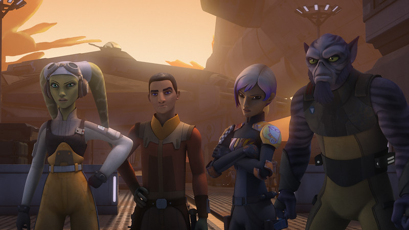 STAR WARS REBELS Season 3 premiere announced, series details included