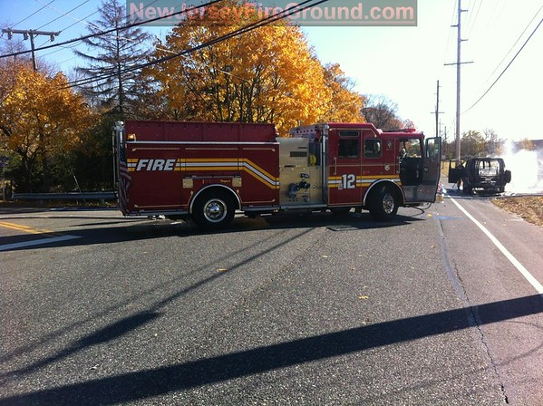 11-14-12 (GLOUCESTER COUNTY) Mantua Township Berkley Rd. & Harrison Ave. Vehicle Fire