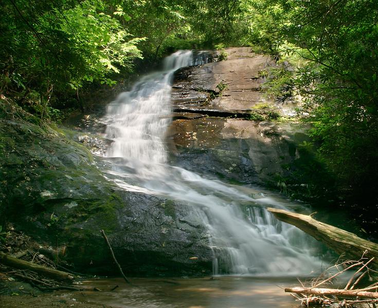 Falls Branch Falls on the Benton MacKaye Trail