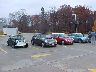 MINIs in the Pines 11-17-2002
