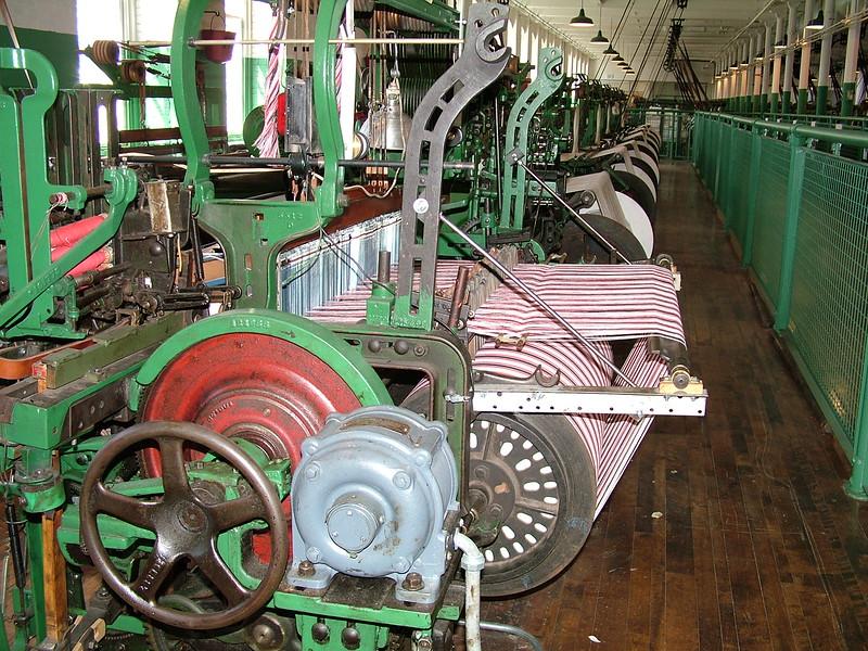 Weaving Machines - Boott Cotton Mills - Lowell, MA