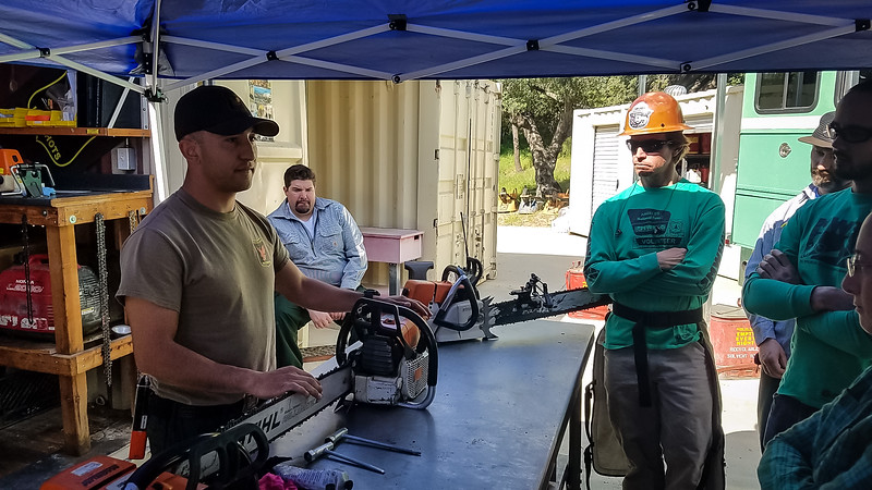 2017-03-12 - Chainsaw Training, Charlton Flat