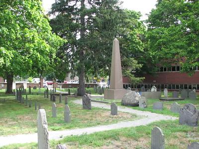 Col. John Brooks Grave