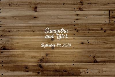 Samantha & Tyler 9.14.19