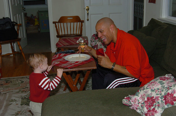 Christmas Eve 2005 at The DeSimone's