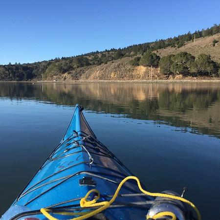 2015-11-29 Kayak Bolinas Lagoon & Drake's Estero