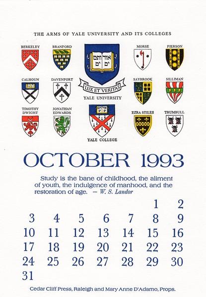 October, 1993, Cedar Cliff Press