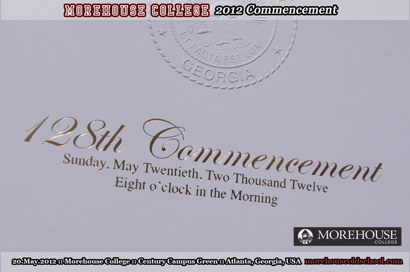 2012 Morehouse Commencement ::: ATL, GA, USA [May.20.2012]