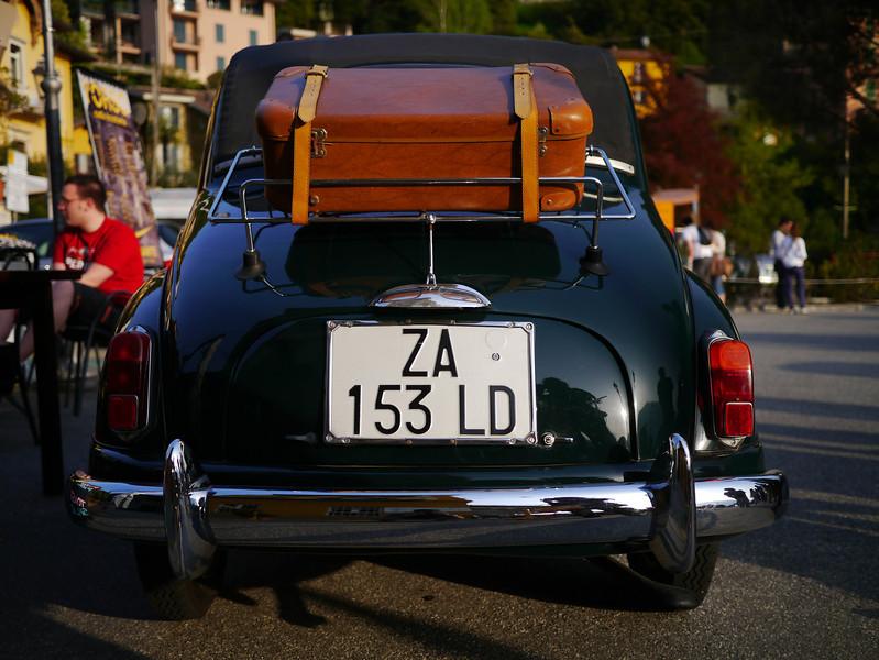 Old Fiat in Varenna