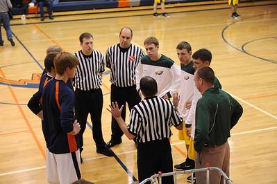 Boys Varsity Basketball @ Colfax 2011 - 2012
