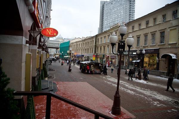 Stari Arbat, Moscow, 2007