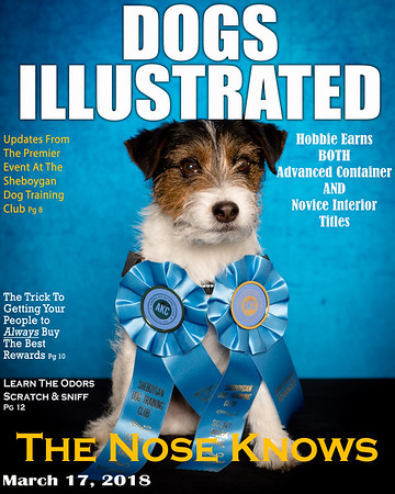 Scent Work March 17 & 18, 2018 - Magazine Covers