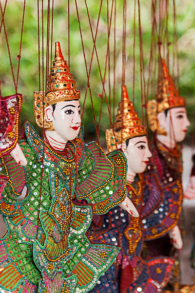 Traditional Puppet, Laos