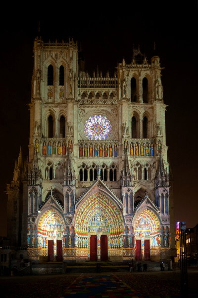 Amiens, Notre-Dame Cathedral West Facade