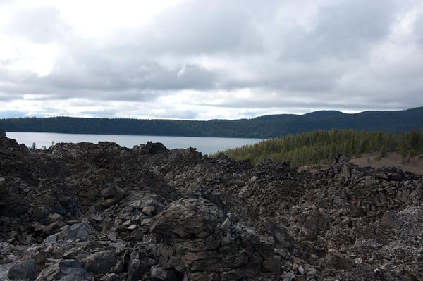 views of paulina lake