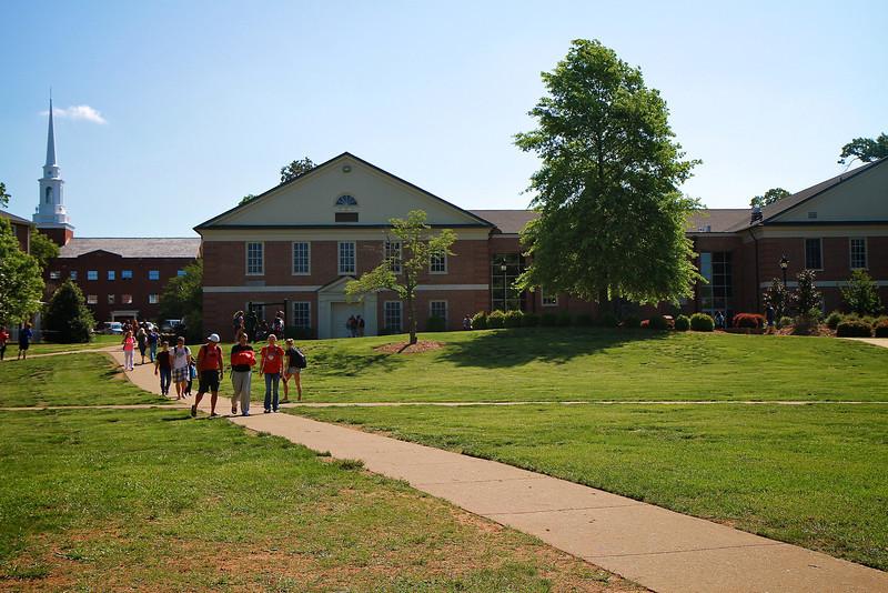 General Campus Shots, Spring 2012.
