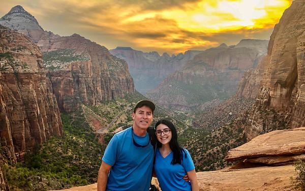 2021 Southwest Adventure  - Zion - Canyon Overlook
