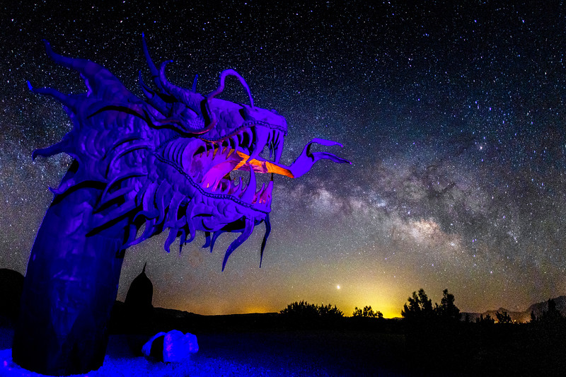 Milky Way Breathing Dragon.