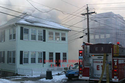 Everett, MA - Working Fire, 117 Garland Street, 2-27-07