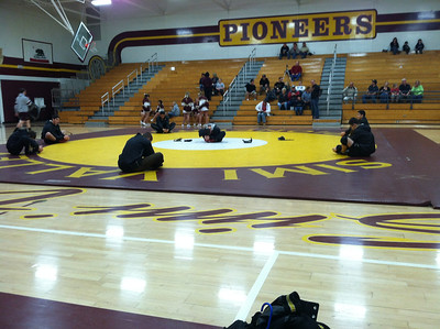 2011-12-08 Guy Wrestling Simi Valley Dual Match