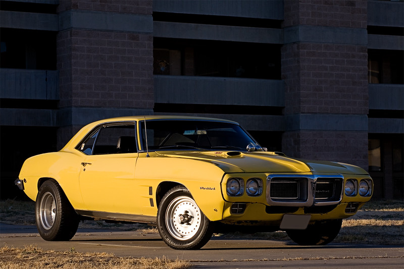 My 1969 Firebird 400 at the old Castle AFB.