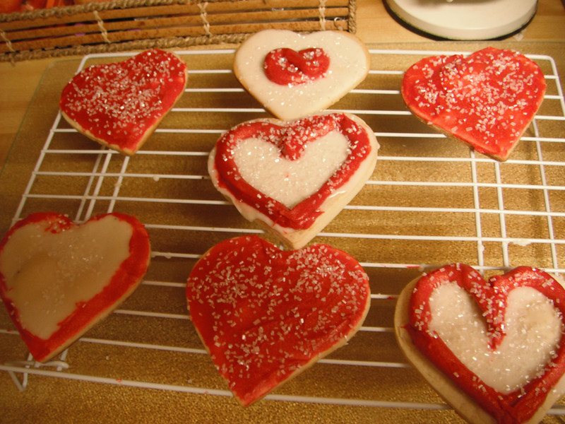 Valentine Sugar cookies...  http://www.tasteofhome.com/Recipes/Valentine-Sugar-Cookies   Def Leppard & Taylor Swift - Pour Some Sugar On Me (Official Video) https://youtu.be/s4z5XlG6ras