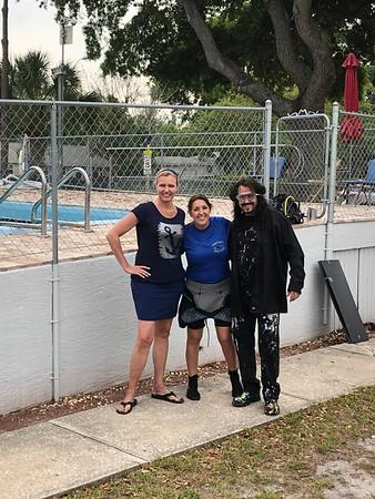 Michael Israel visits campus