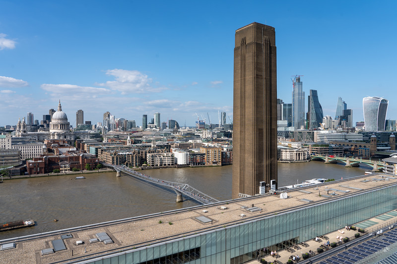 London view from the Tate Modern