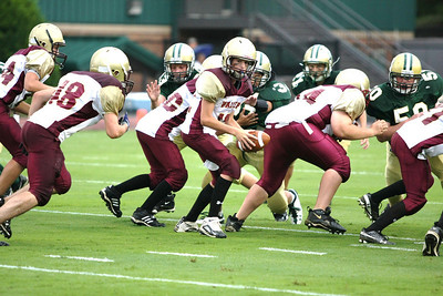MS Football 2009--Wesleyan Aug 27