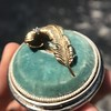 Vintage Mini Plume Pin 19