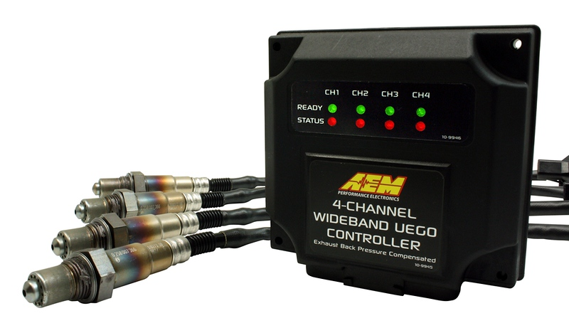 AEM's 4-Channel Wideband UEGO Controller