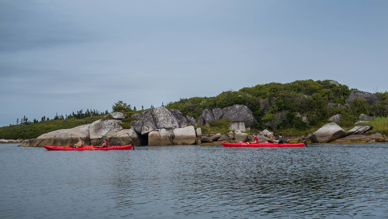 Kayaking with East Coast Outfitters