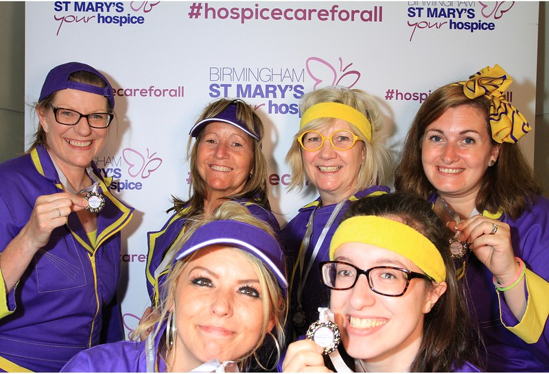 St Mary's Hospice Photobooth